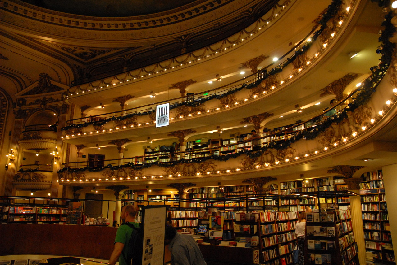 "Die Buchhandlung ""El Ateneo"","