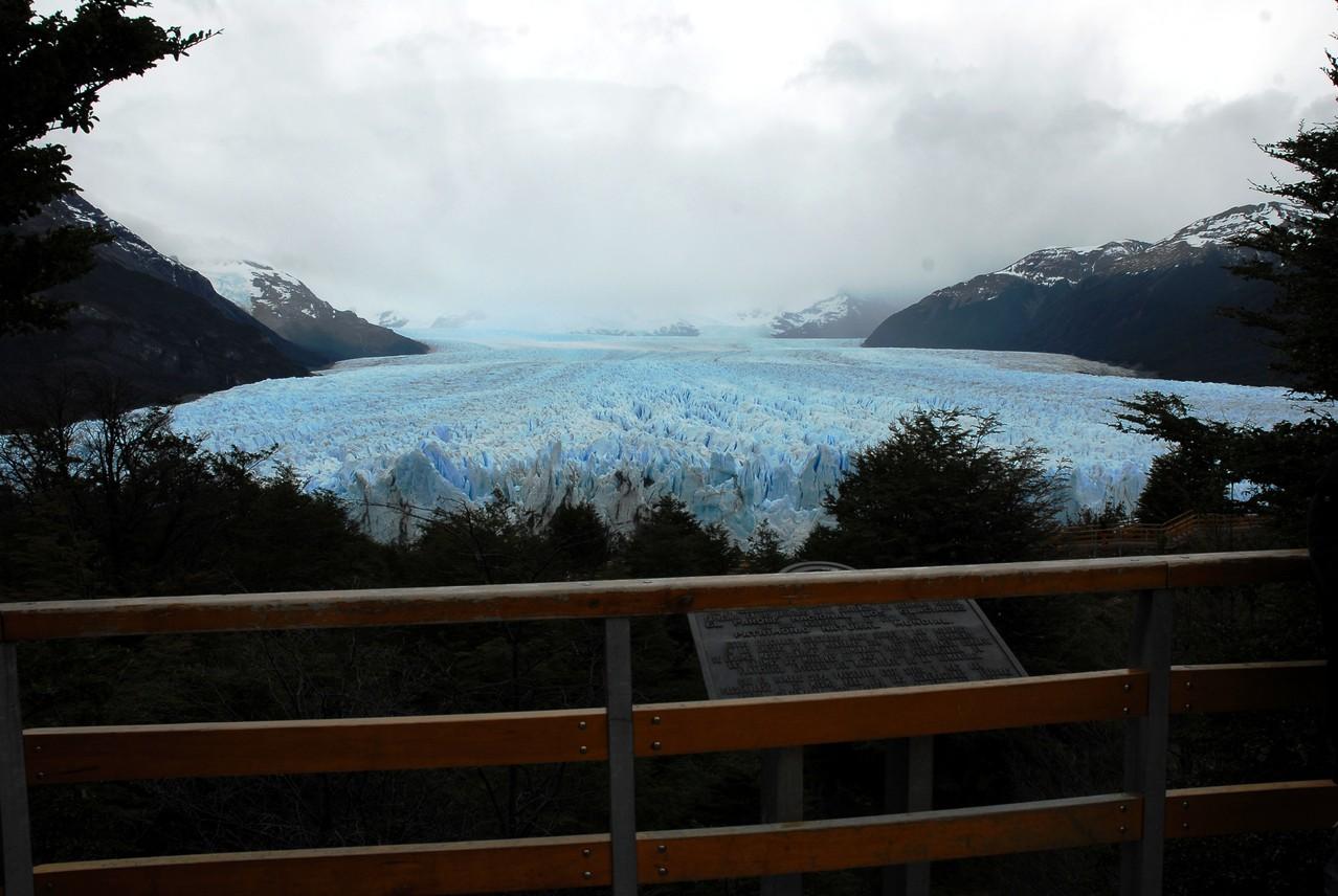 Der Gletscher mit der Gletscherzunge