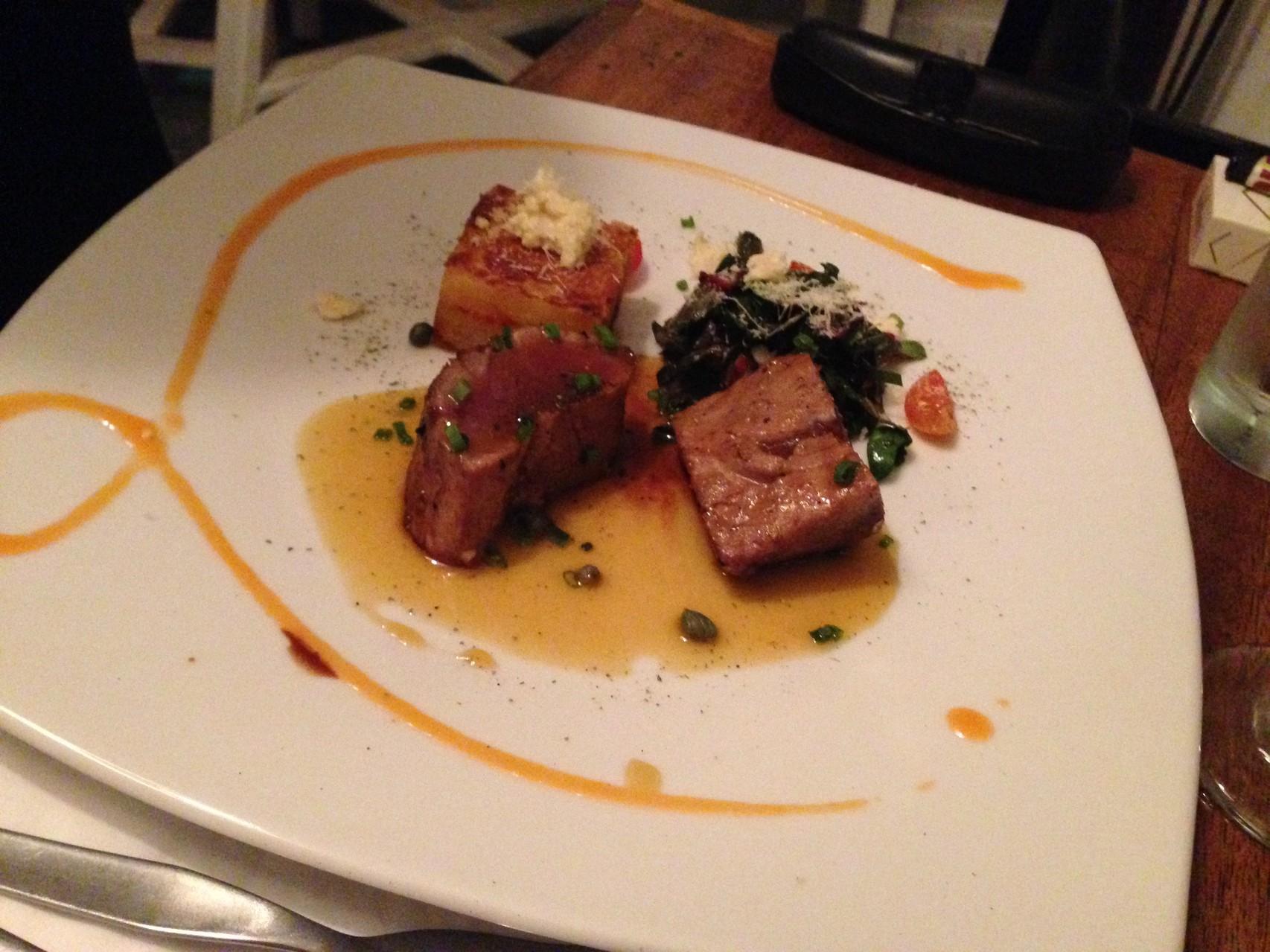 Thunfisch mit Süßkartoffeln