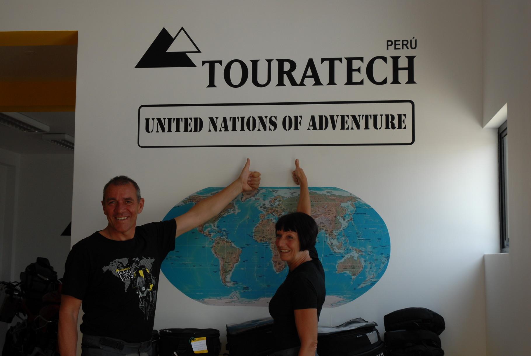 Die Vereinten Nationen des Abenteuers