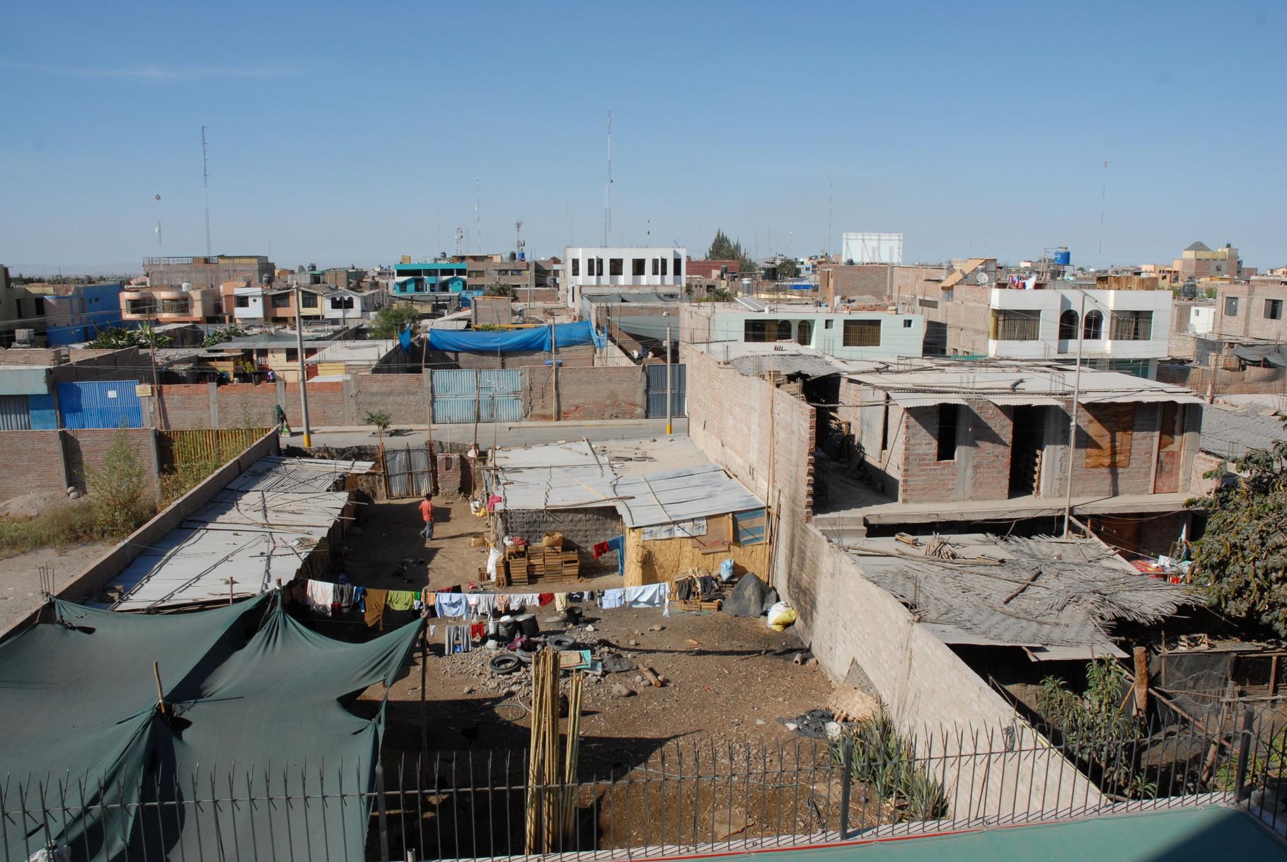 Blick aus dem Hotelzimmer in El Pedegral