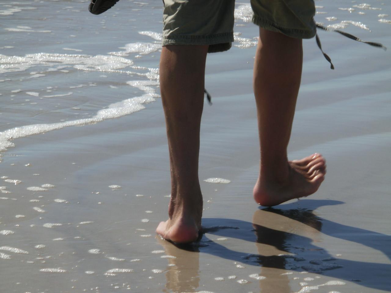Soweit die Füße tragen