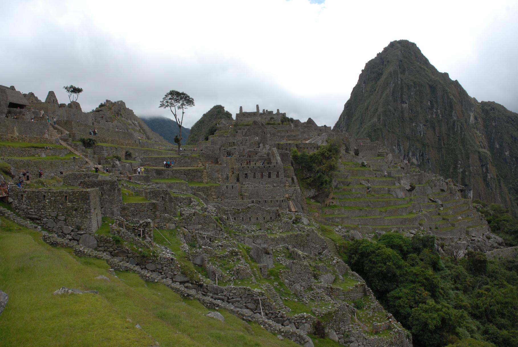 Abschied von Machu Picchu