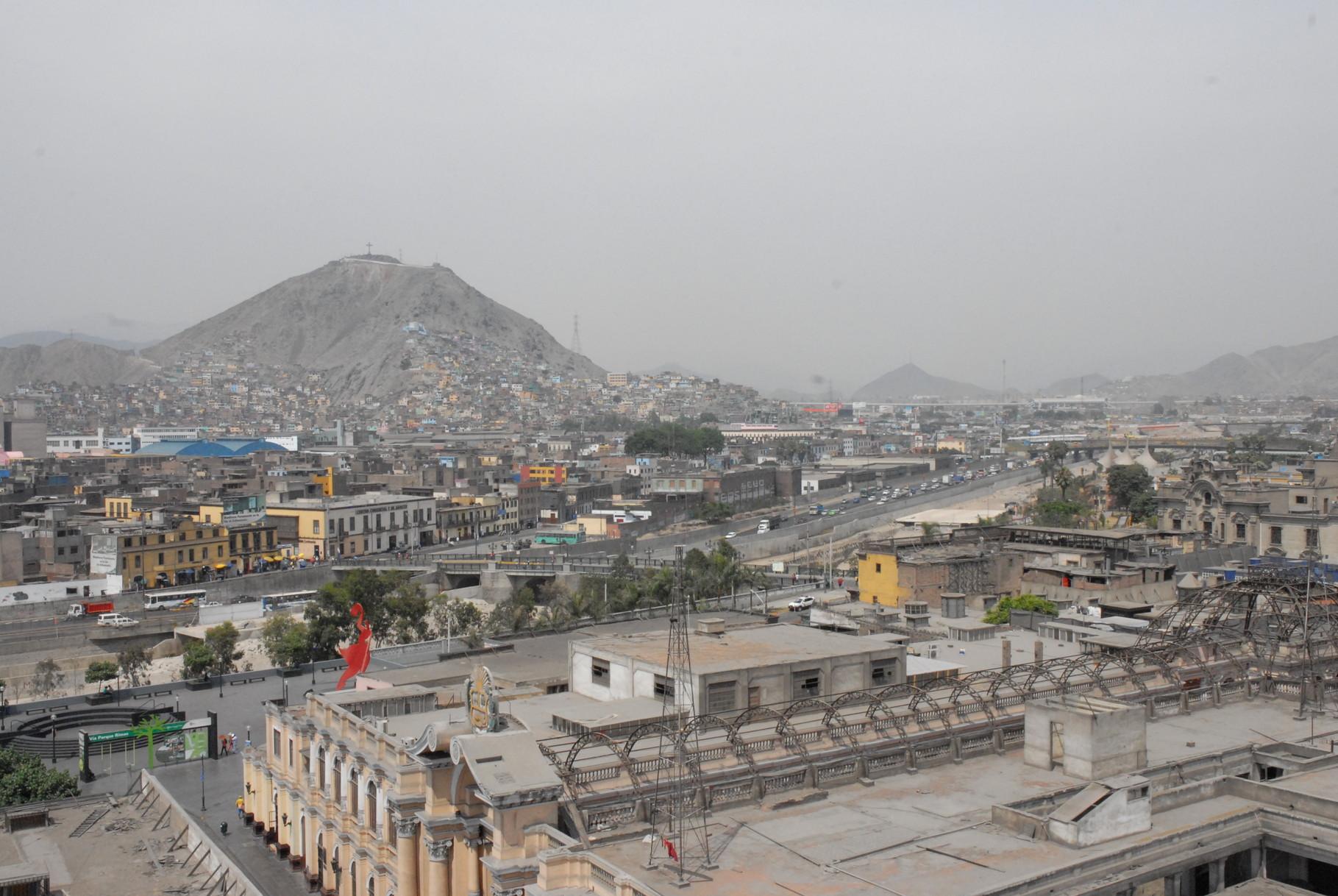Lima von oben gesehen