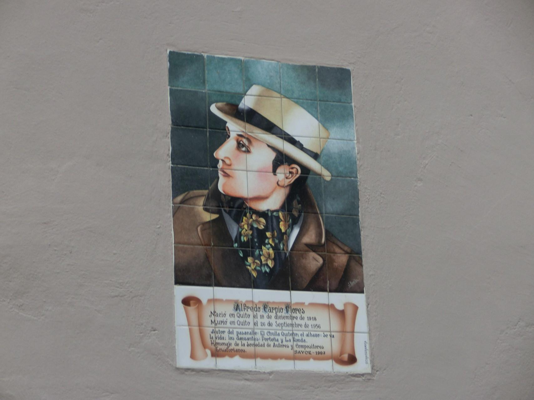 Alfredo Carpio Flores, ein ecudorianischer Autor aus Quito