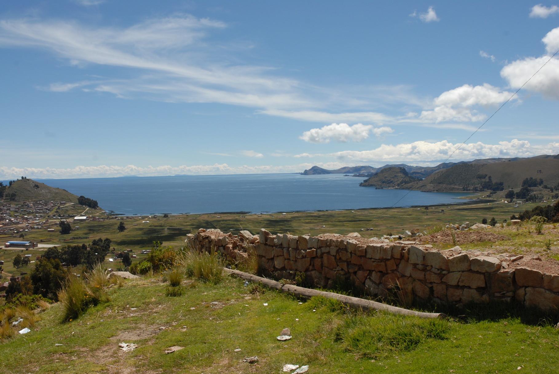 ... bolvianische Seite des Titicacasees