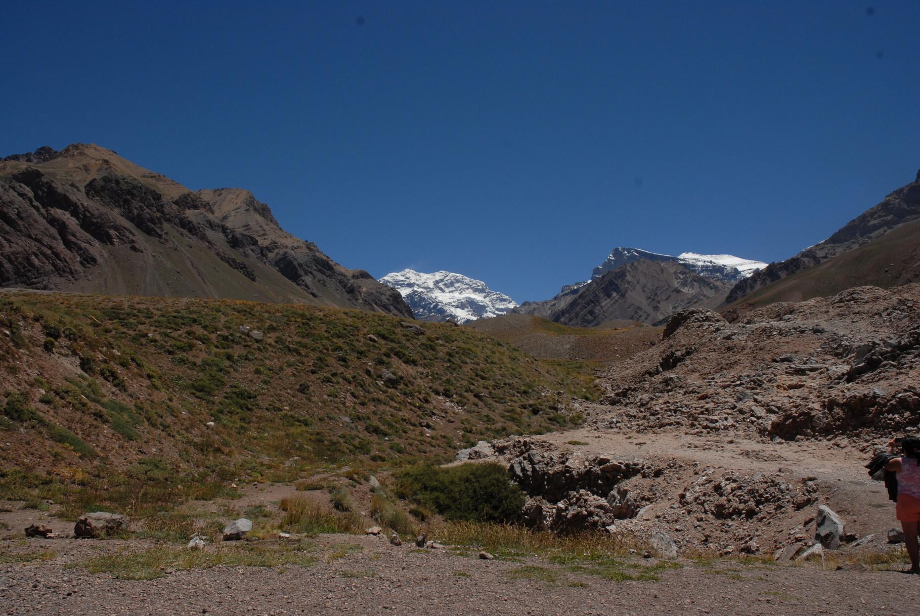 Der höchste Berg Südamerikas ...