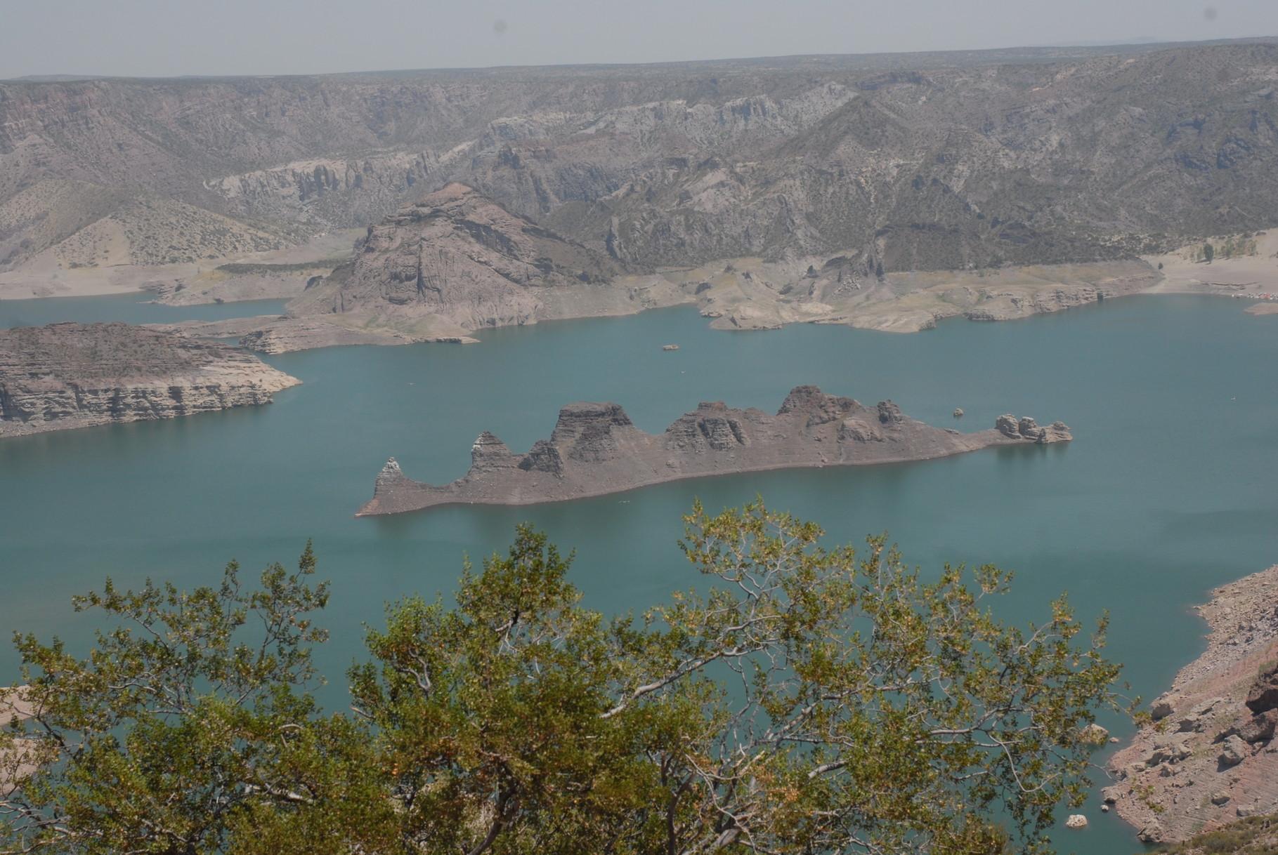 Der See im Cañon