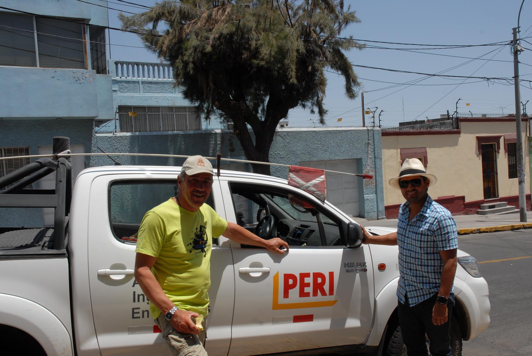 Weißenhorn unterwegs in Südamerika