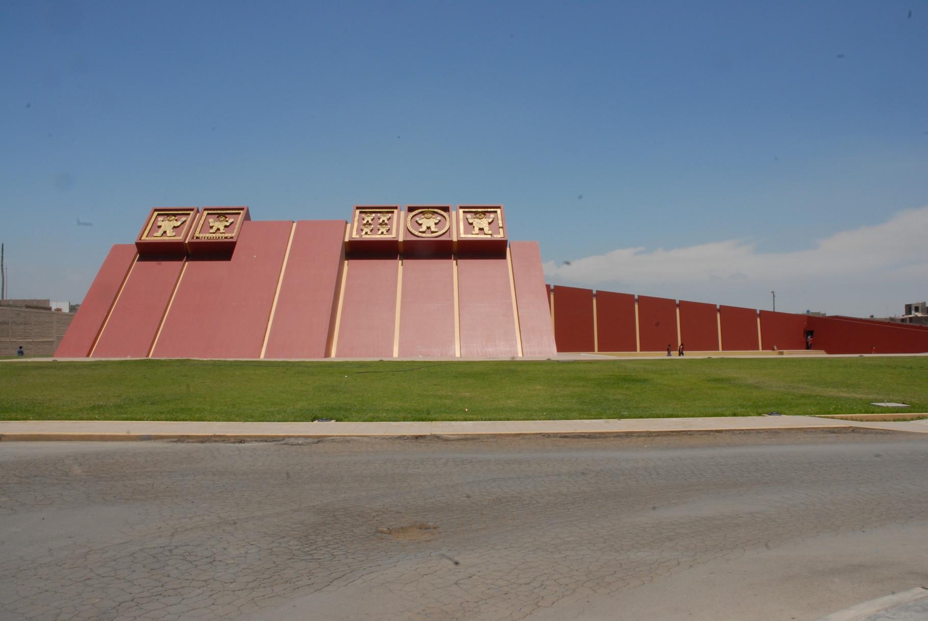 Das Museo Tumbas Reales de Sipán ...