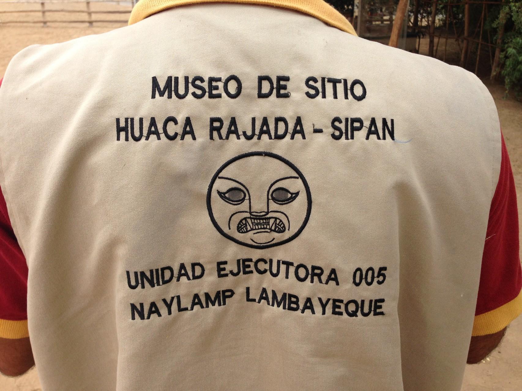 Die Gräber von Sipan liegen in Huaca Rajada