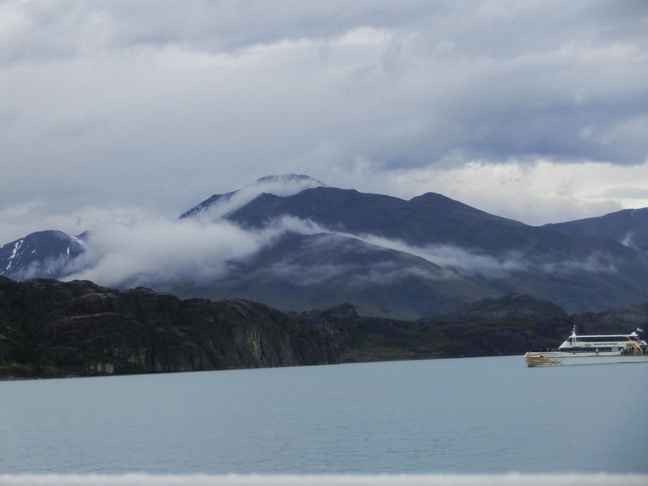 Auf der Anfahrt zum Upsala-Gletscher