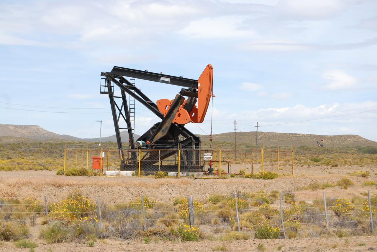 Hier wird überall Erdöl gefördert