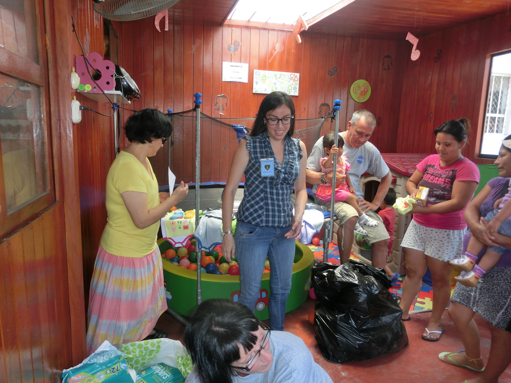 Sandra Arce, unsere helfende Hand