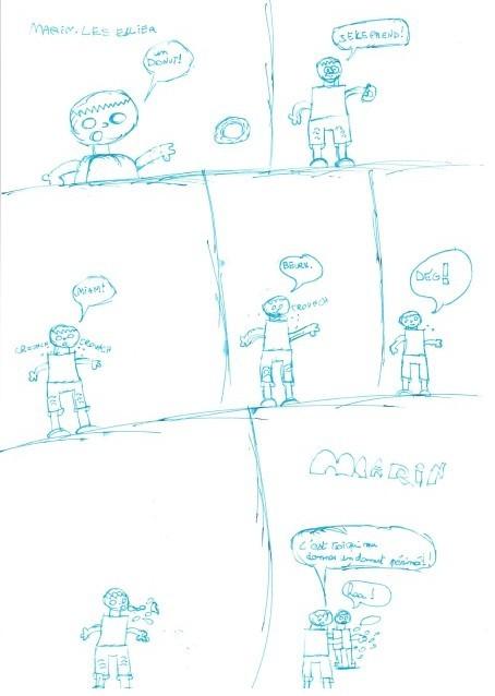 BD de Marin, 8 ans