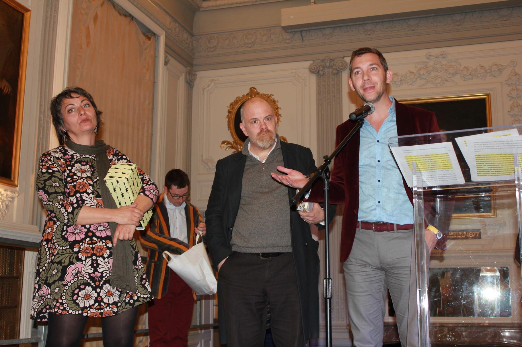 Et d'Elodie Torrente, fondatrice et organisatrice du Prix pour Libres Plumes