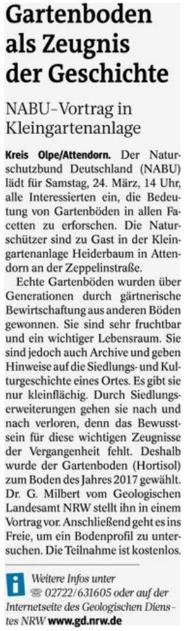 Westfalenpost 03.03.18