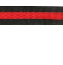 Flexi band zwart/rood