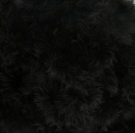 Donsband zwart