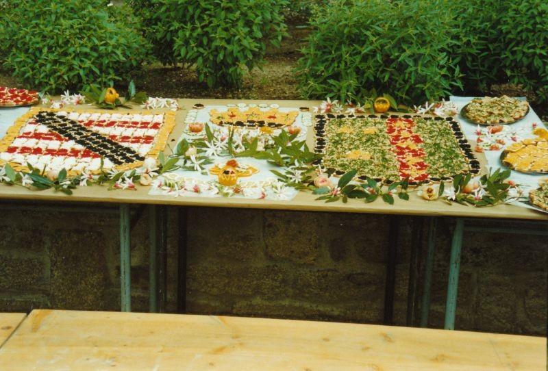 Le superbe buffet préparé par Daniel Saulnier