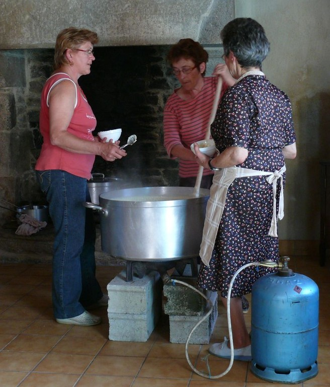 Anne-Marie, Raymonde et Thérèse