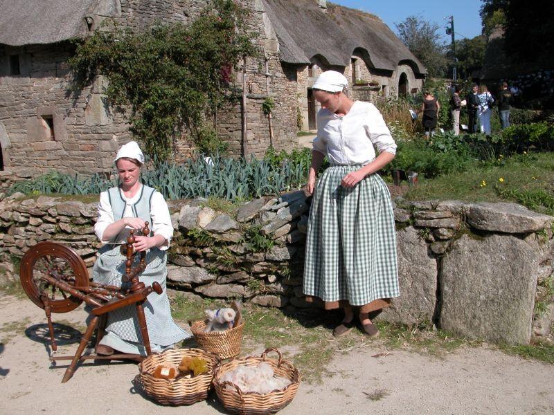 La fileuse de laine