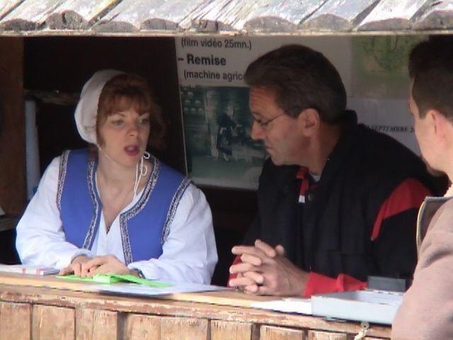 Florence et le boss des entrées