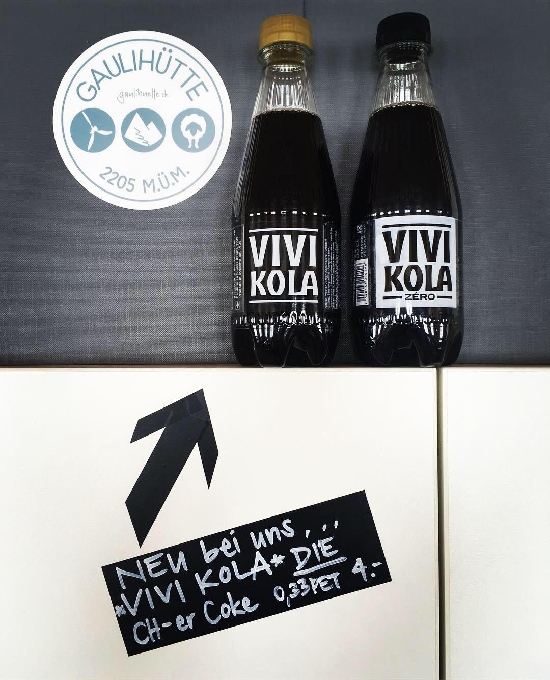 ...20: Vivi Kola ahoi! Ab sofort gibts die echte Schweizer Coke bei uns