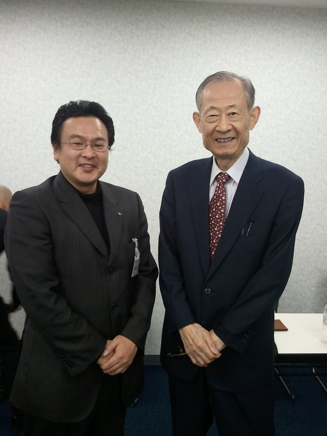 竹田陽一先生と。