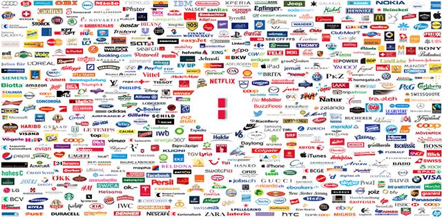 Tableau des marques internationales et grands groupes
