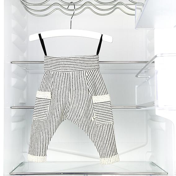 Spaghetti / Grey striped pants #0117TR01 / 24,00