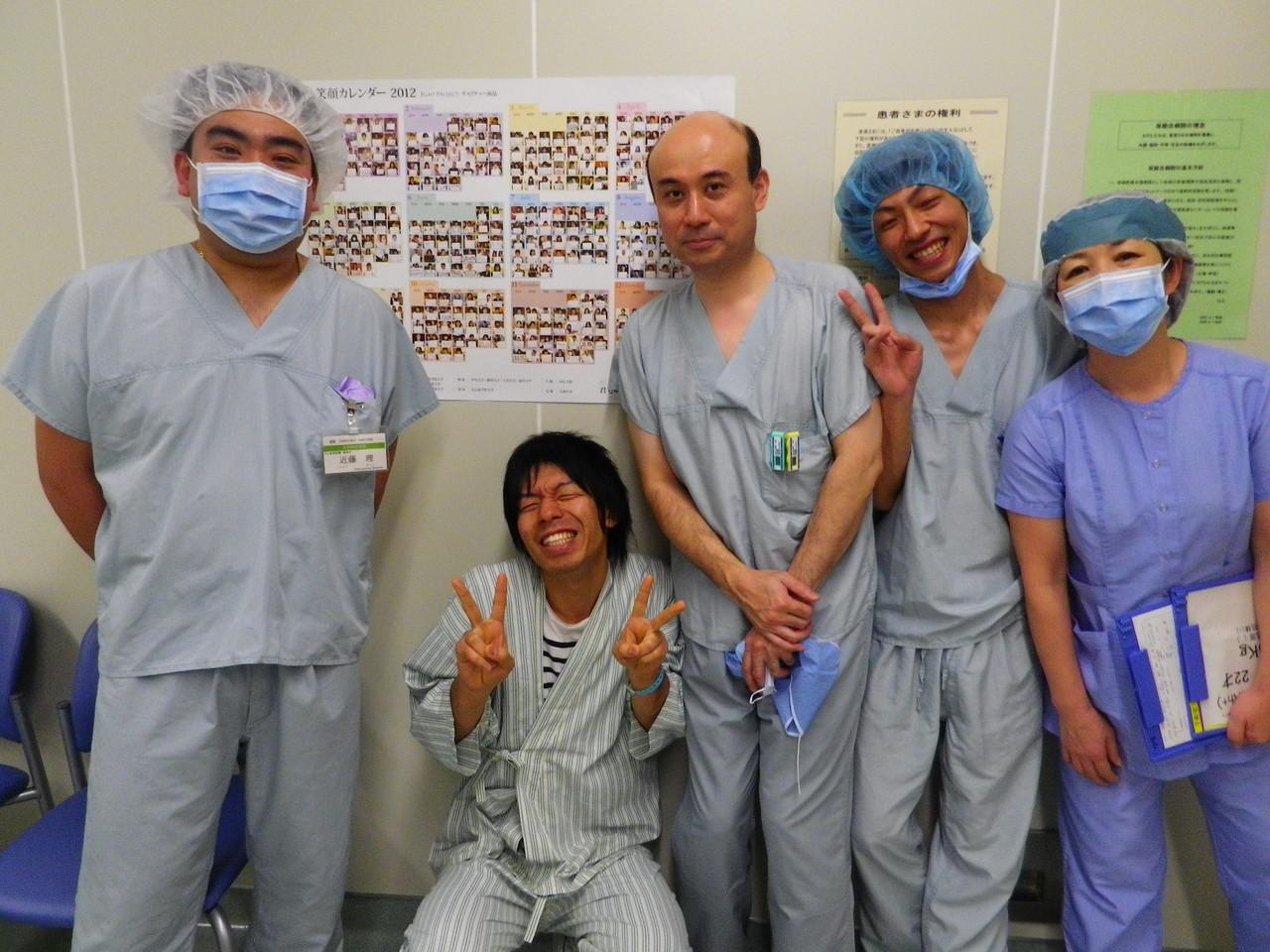 吉川 手術前