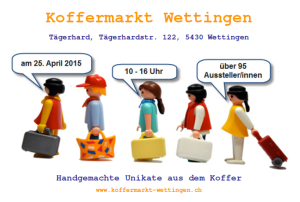 Koffermarkt Wettingen 25.4.2015