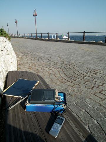 大黒埠頭海づり公園でのワッチ風景