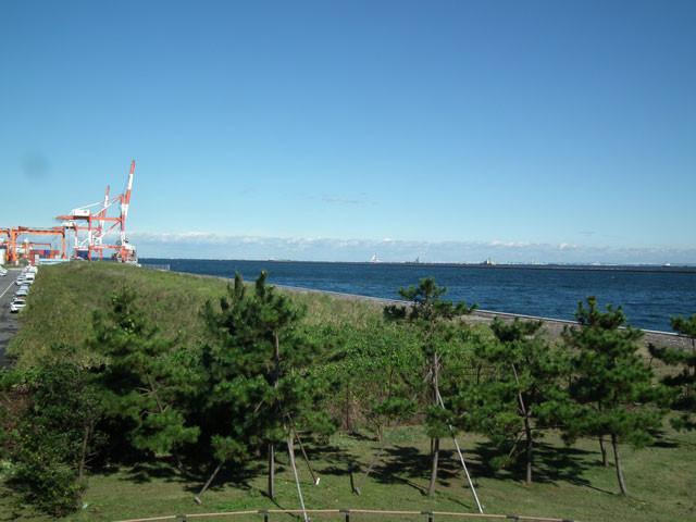 東側展望台から北方向の眺め