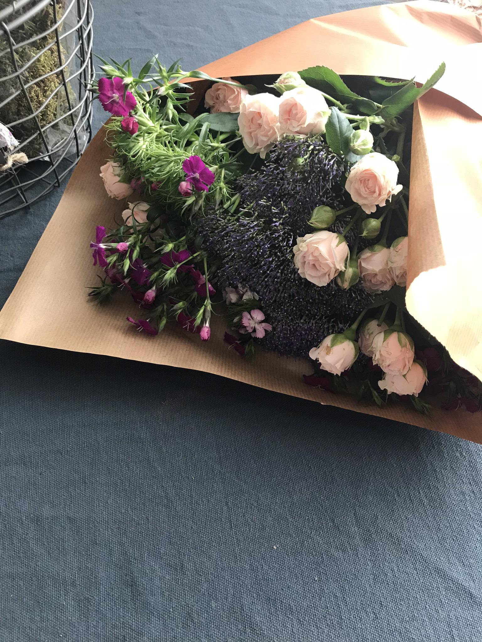 Choisissez les fleurs qui vous plaisent