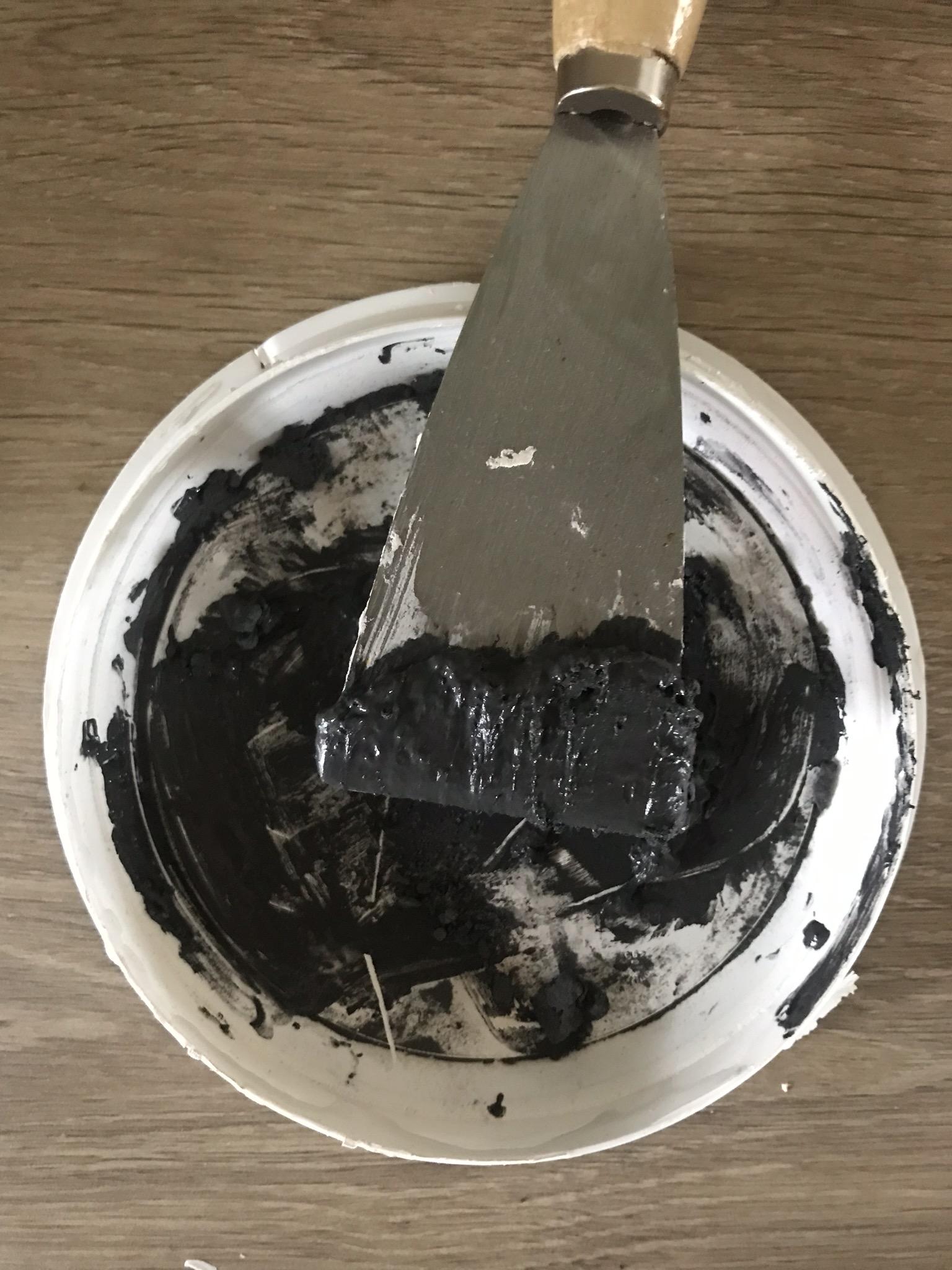 Application de la métaline à la spatule