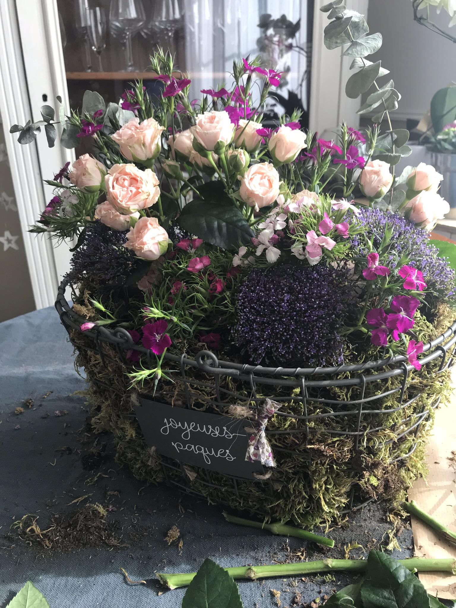 Ajuster vos fleurs, créer du relief