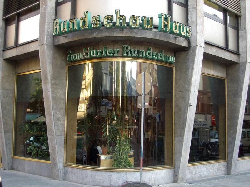 Frankfurter Rundschauhaus in memoriam
