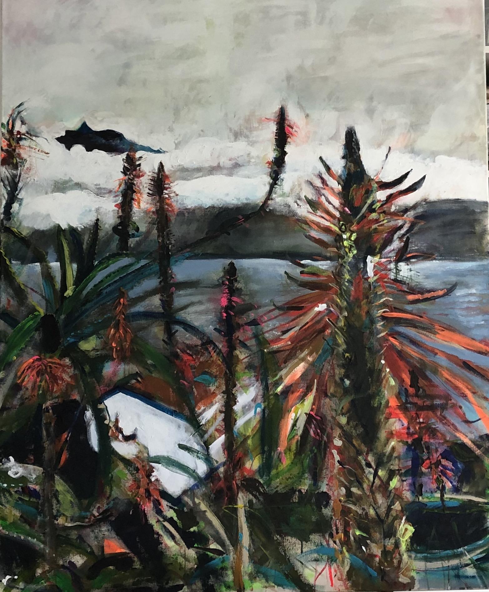 Aloe Vera,  120x100,  acrylic on canvas