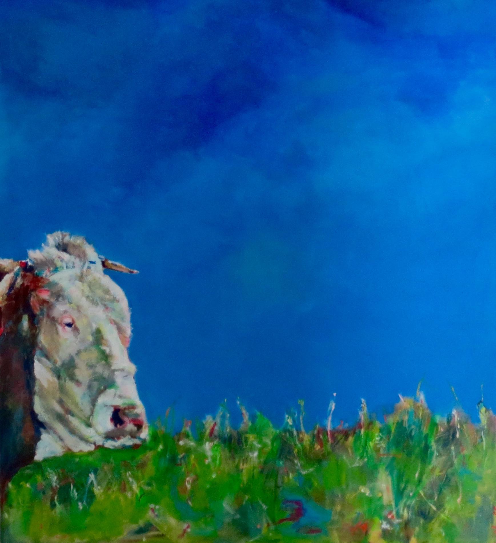 O vizinho, 150x120 acrylic on canvas