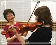 田園都市線横浜市青葉区青葉台バイオリン・ビオラ教室 大人のレッスン画像