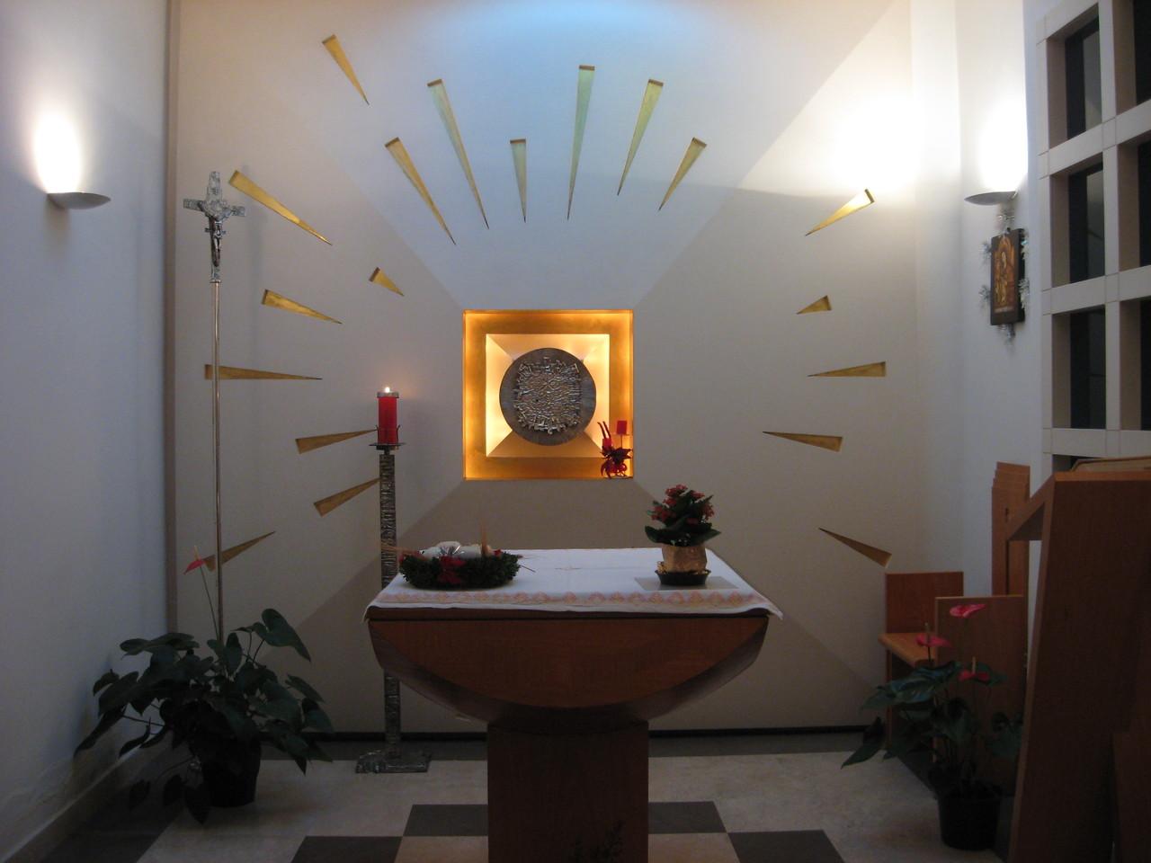 Cappella (Casa d'Accoglienza - Roma)