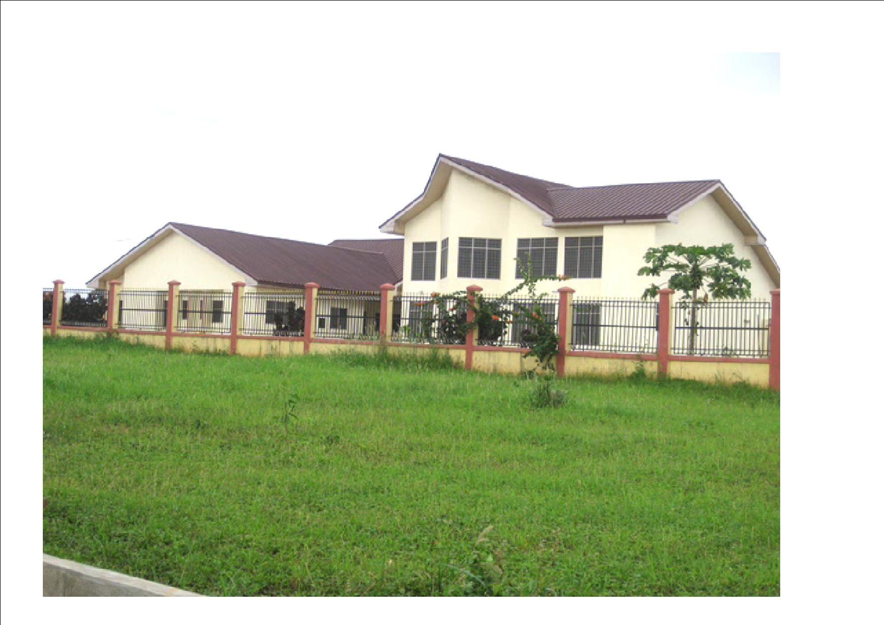 Casa di Formazione in Ghana (Africa)