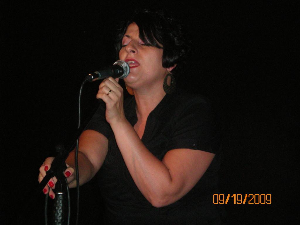 La nostra insegnante di canto