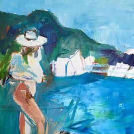 Monaco, oil on canvas 40 x 40 cm 2015