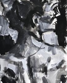 Morning Clove, acrylic on paper 2009