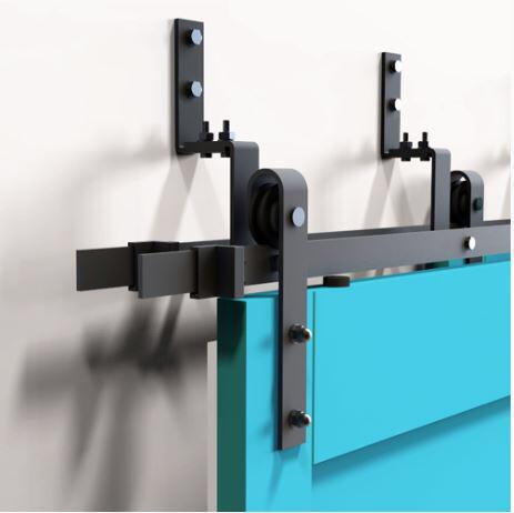 dubbele schuifdeurrails, meerdere schuifdeuren, overlappende deuren, schuifdeursysteem meerdere deuren