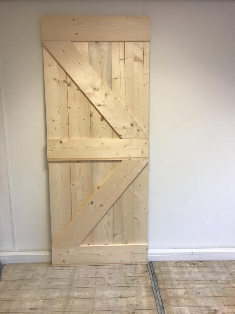Steigerhout loftdeur zelfbouw set