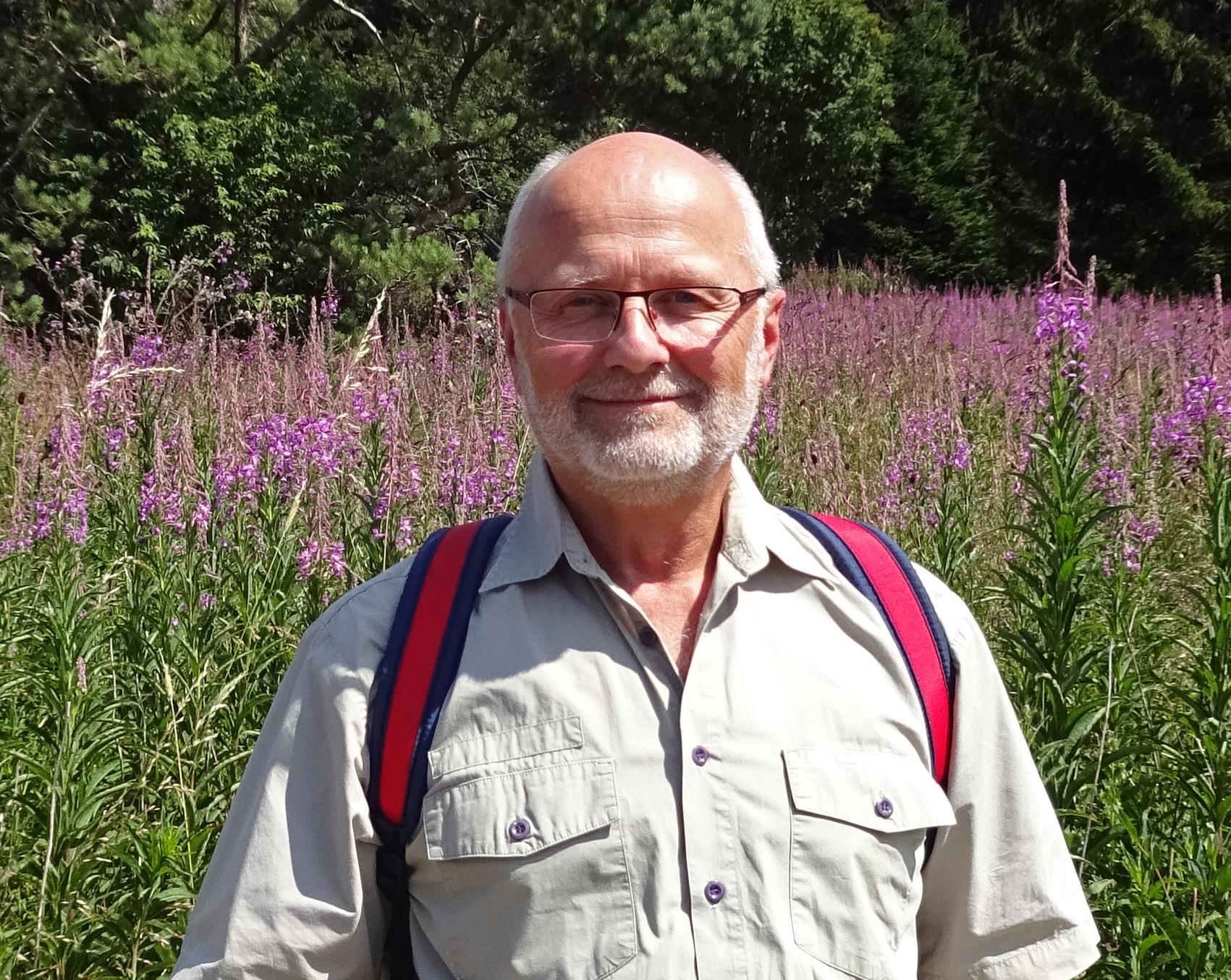 Richard Kalkbrenner, Kreisgruppenvorsitzender in Aschaffenburg